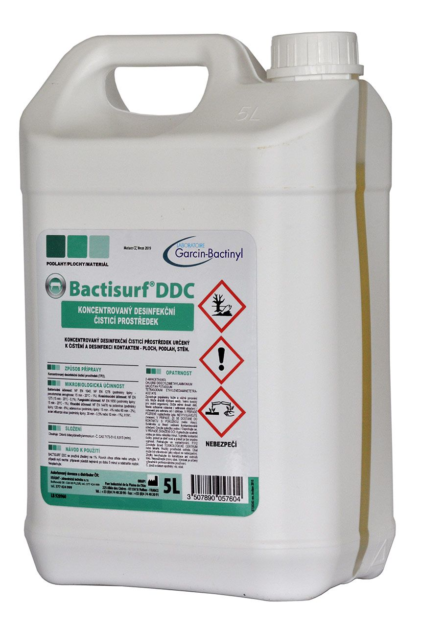 DEZINFEKCE BACTISURF DDC - 5L (na plochy)