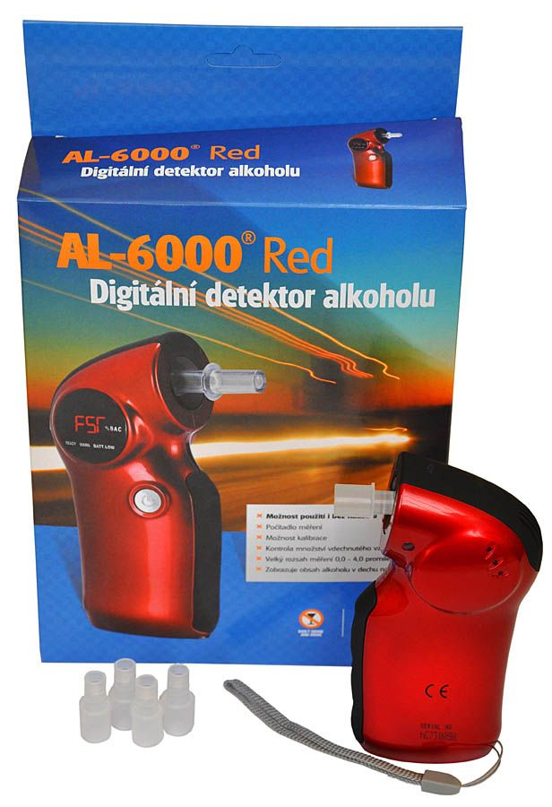 ALKOHOLTESTER AL 6000 RED