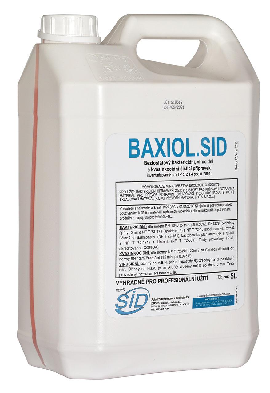 DEZINFEKCE NÁDOBÍ BAXIOL.SID - 5L