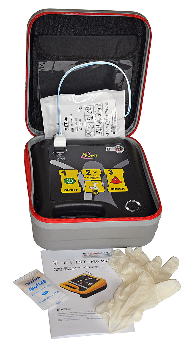 DEFIBRILÁTOR AED LIFEPOINT