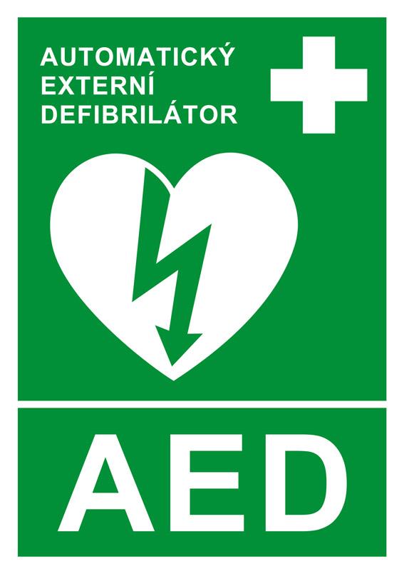 SAMOLEPKA AED DEFIBRILÁTOR