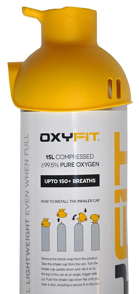 OXYFIT 15 LITRŮ (přenosný kyslík)