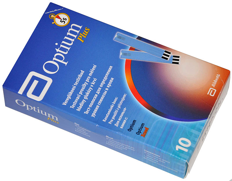 GLYKEMIOVÉ PROUŽKY OPTIUM PLUS