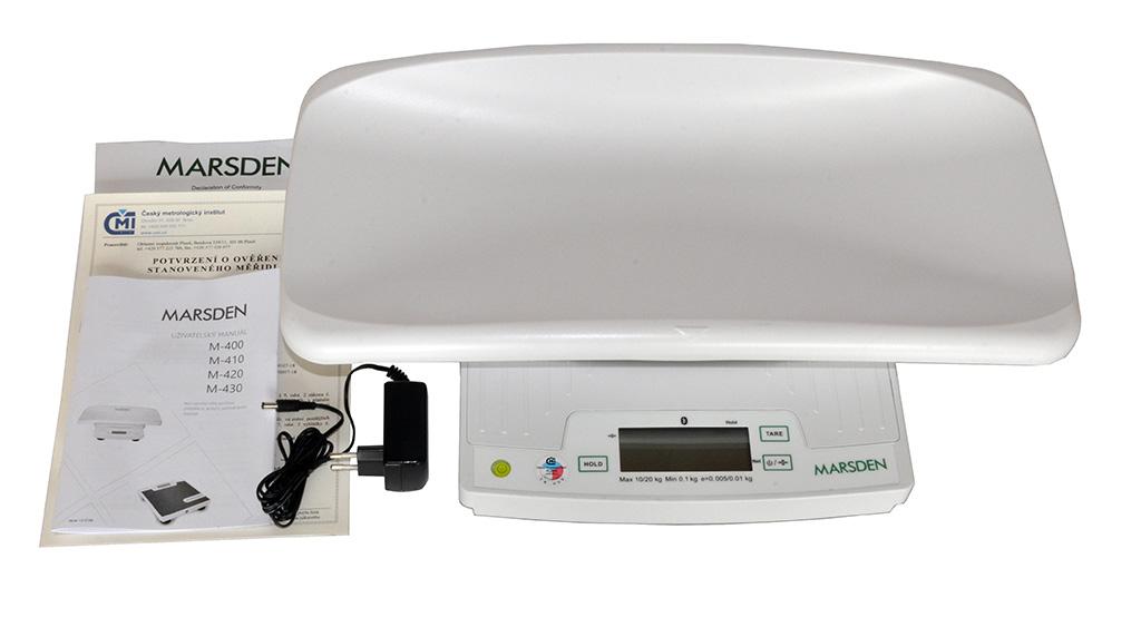 MARSDEN Group UK Ltd. KOJENECKÁ VÁHA MARSDEN M-400 (ověřená CM19)