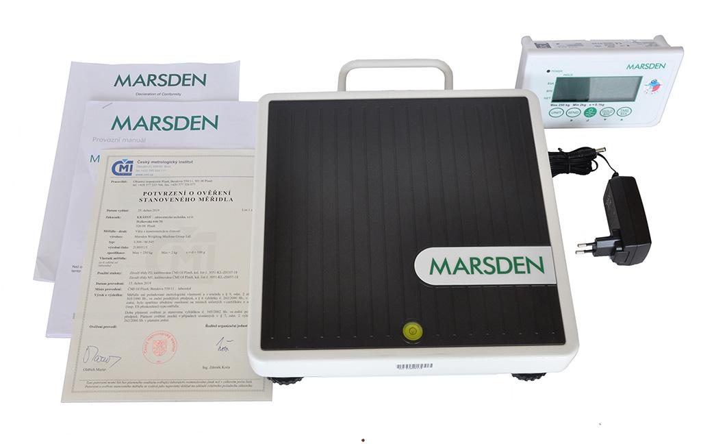 MARSDEN Group UK Ltd. NÁŠLAPNÁ VÁHA MARSDEN M-545 (ověřená CM19)