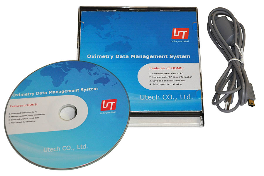 SOFTWARE K OXYMETRU UTECH